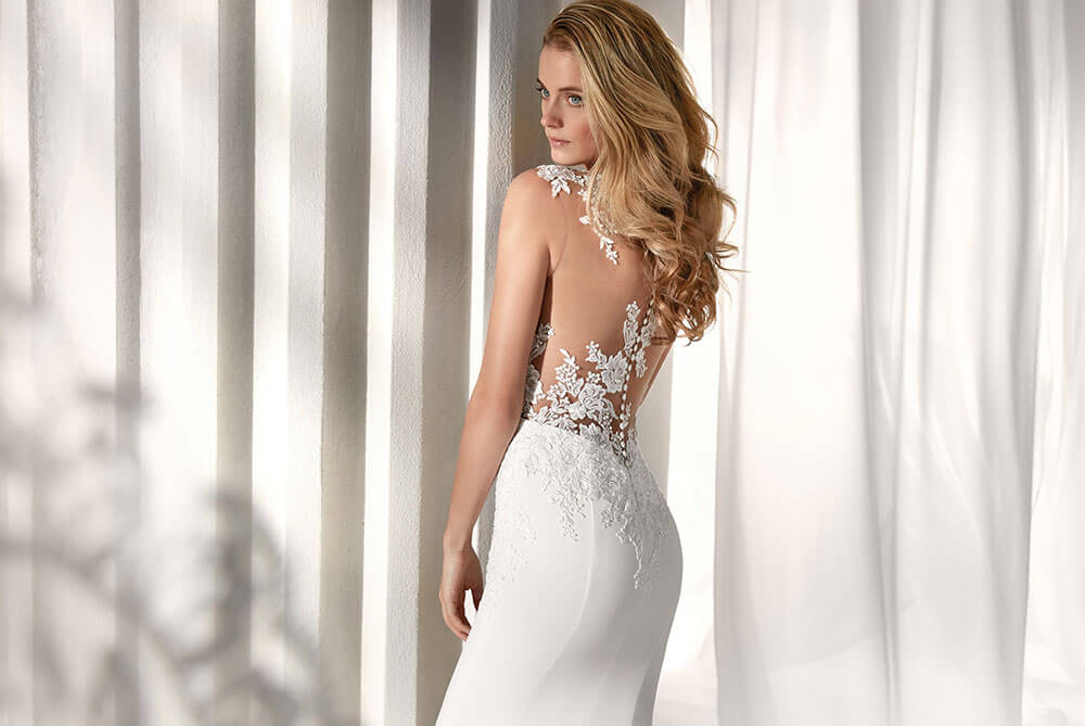 nicole-spose-NIAB19143-lace-crepe-fitted-elegant