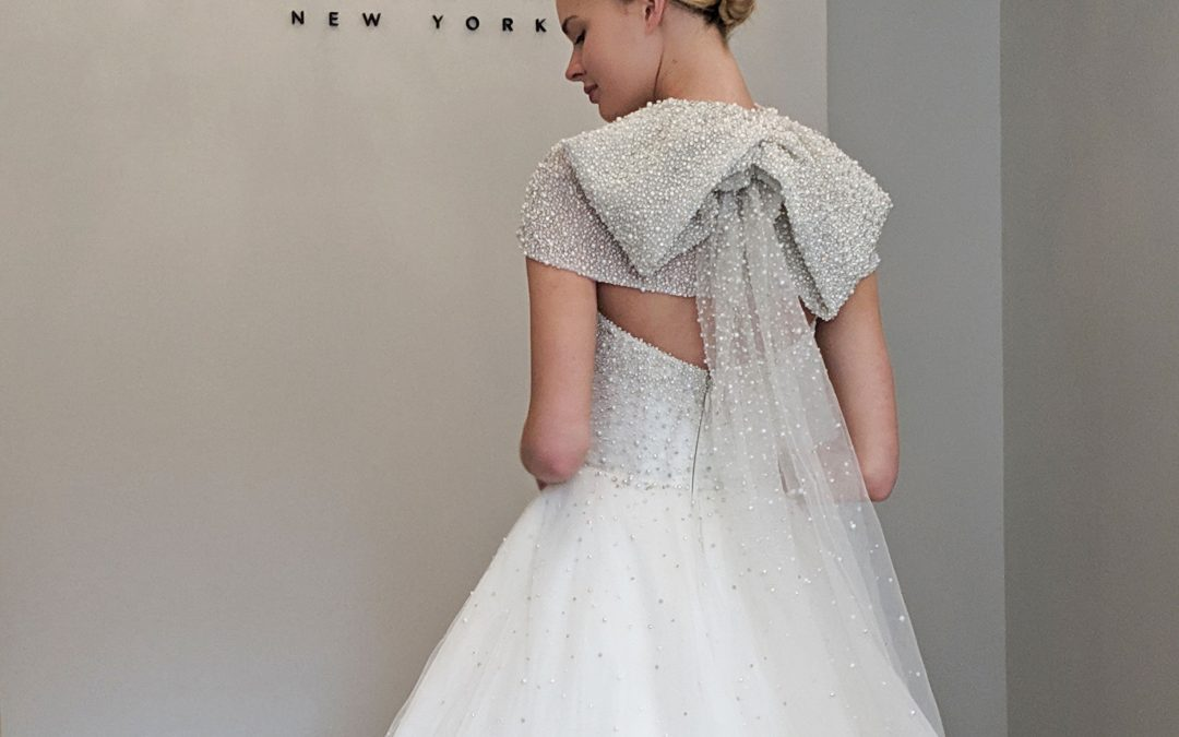 Hey 2020 and 2021 Brides! Check out the Latest Trends from NY Bridal Fashion Week!