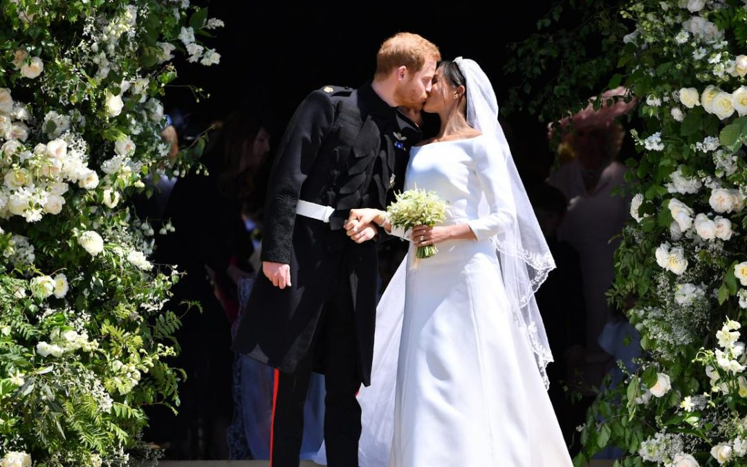 It's Meghan Markle and Prince Harry's Anniversary! We Celebrated by Finding Wedding Dresses Inspired by Their Royal Wedding