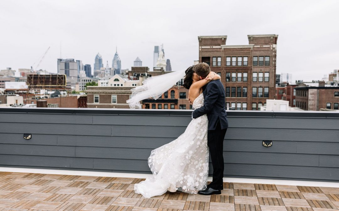 Some Things Are Worth The Wait: Stef & Ryan Tie The Knot at a Heartfelt Micro Wedding in Philadelphia