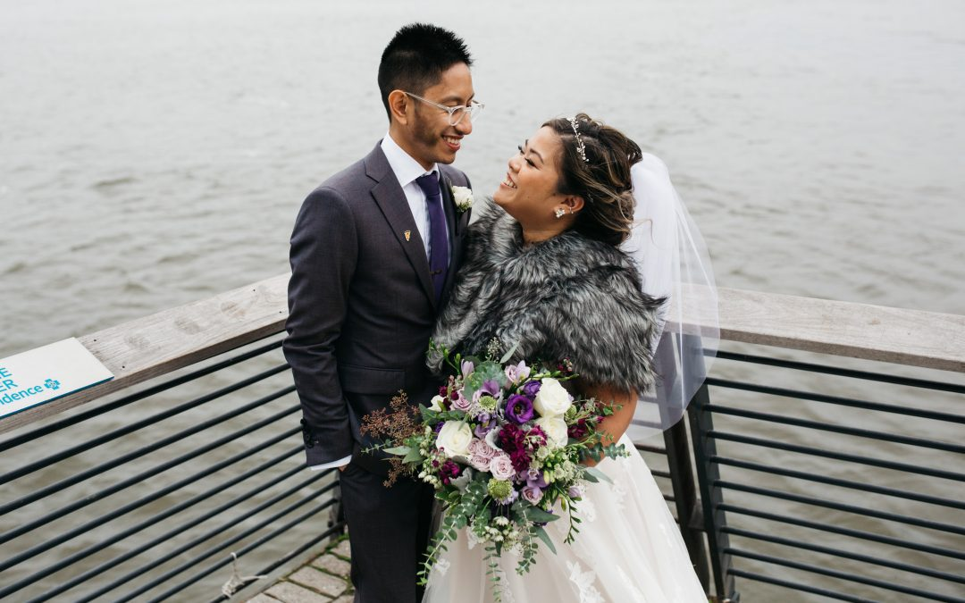 This Philly Wedding Was A Dream Thanks To Careful Planning (And Just Going With It)