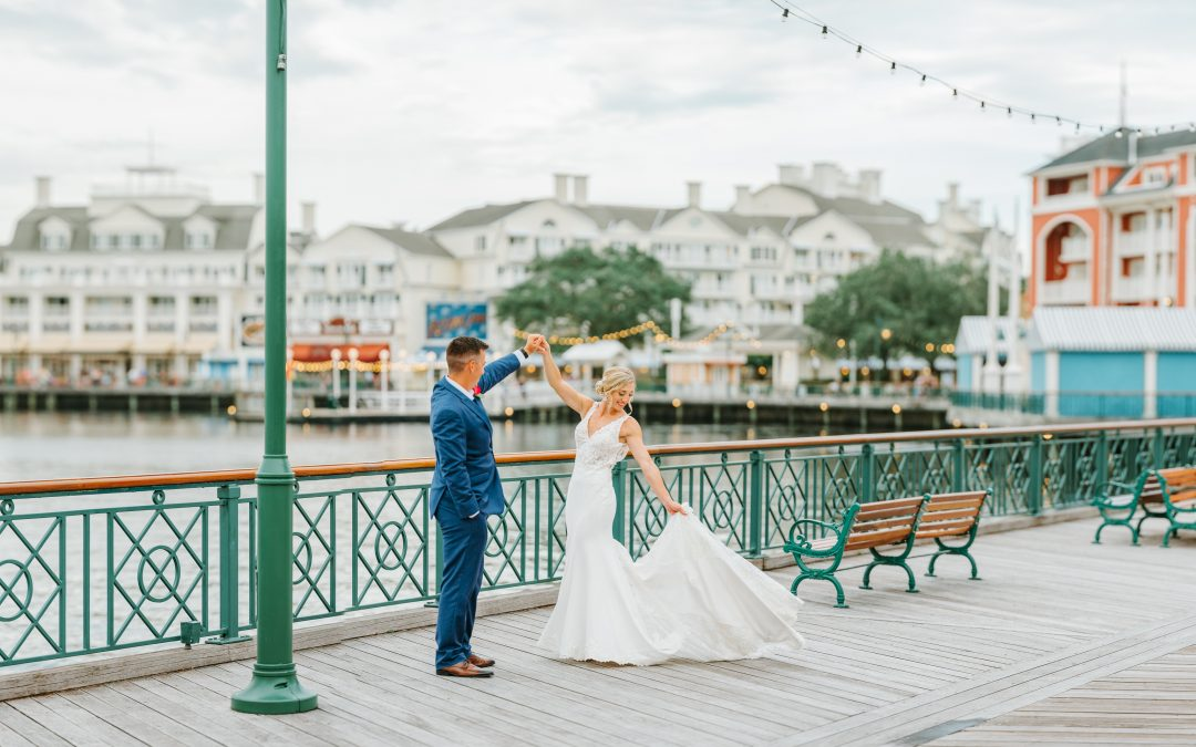 Nicole and Joe's Happily Ever After Started with a Magical Disney Wedding